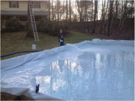 pool and ice rink water Saratoga NY
